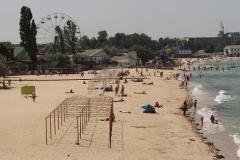 Черноморское пляж фото 3