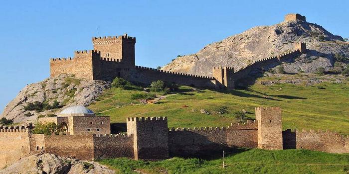 Генузская крепость в Судаке