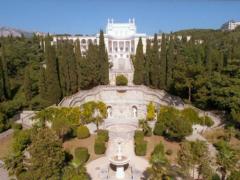 Санаторий «Родина»: белоснежный дворец утопающий в зелени!