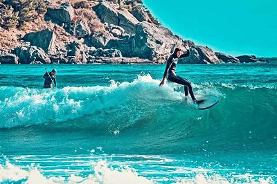 Лучшие места для серфинга в Крыму