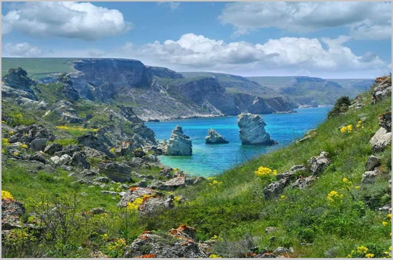 Малолюдные и уединенных места у моря в Крыму