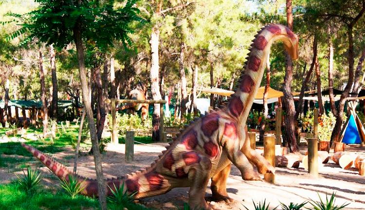 Динопарк в Евпатории