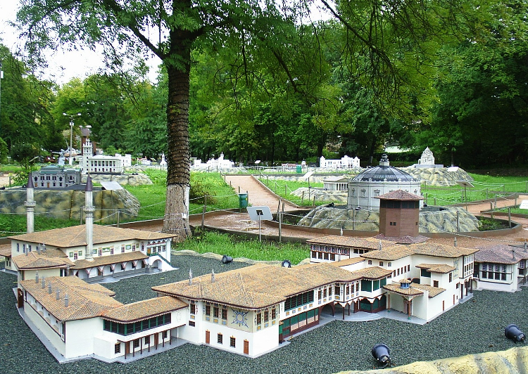 Крым в миниатюре, Евпатория, Крым, фото