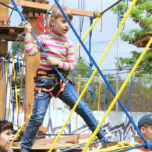 Веревочный парк «Лукоморье» в Севастополе