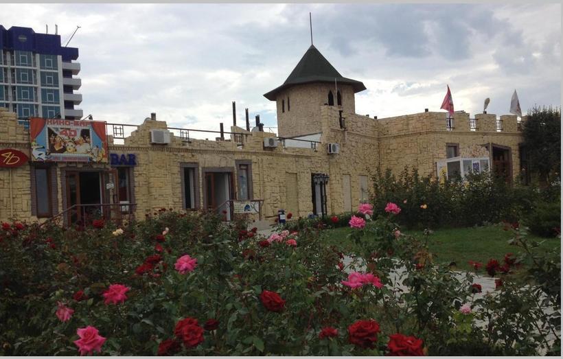 Аквапарк Зурбаган Севастополь - здание