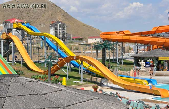 Аквапарк коктебель Крым цены 2019