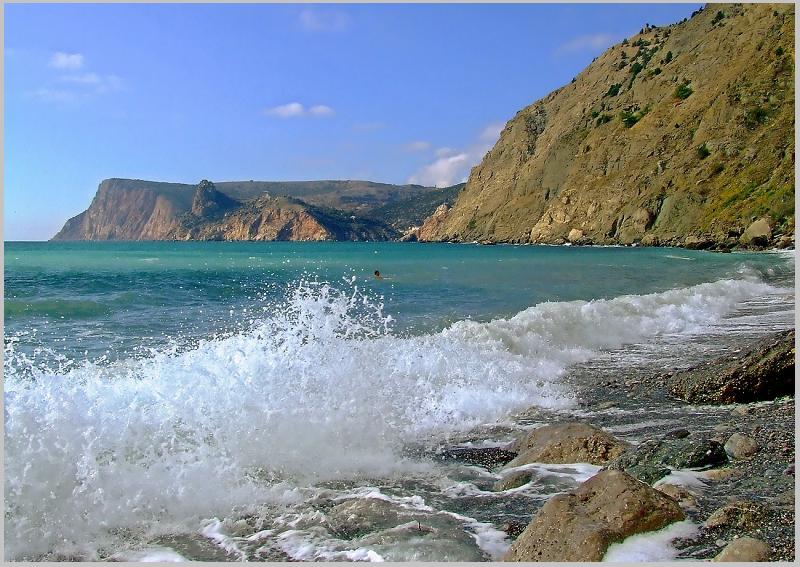 Черное море в октябре