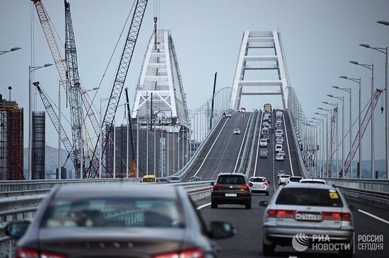 Как ехать через крымский мост