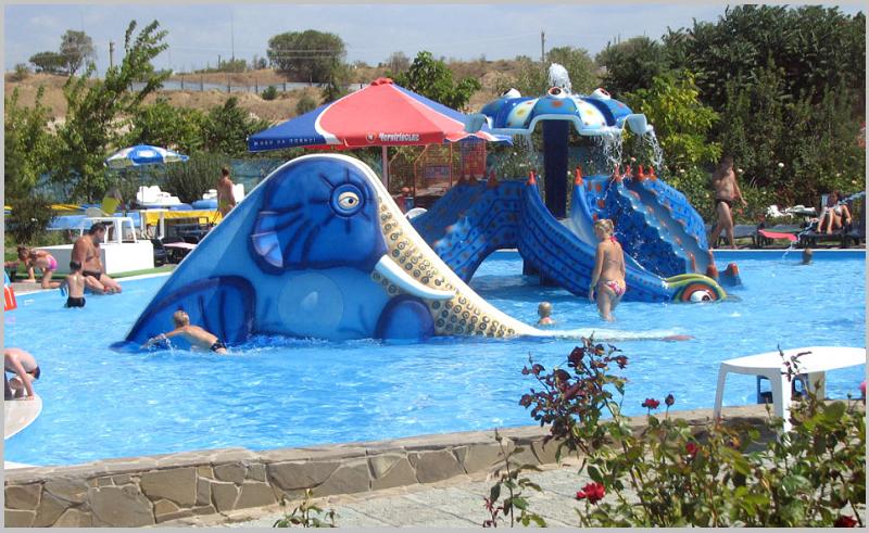 Горки для детей в аквапарке севастополя фото