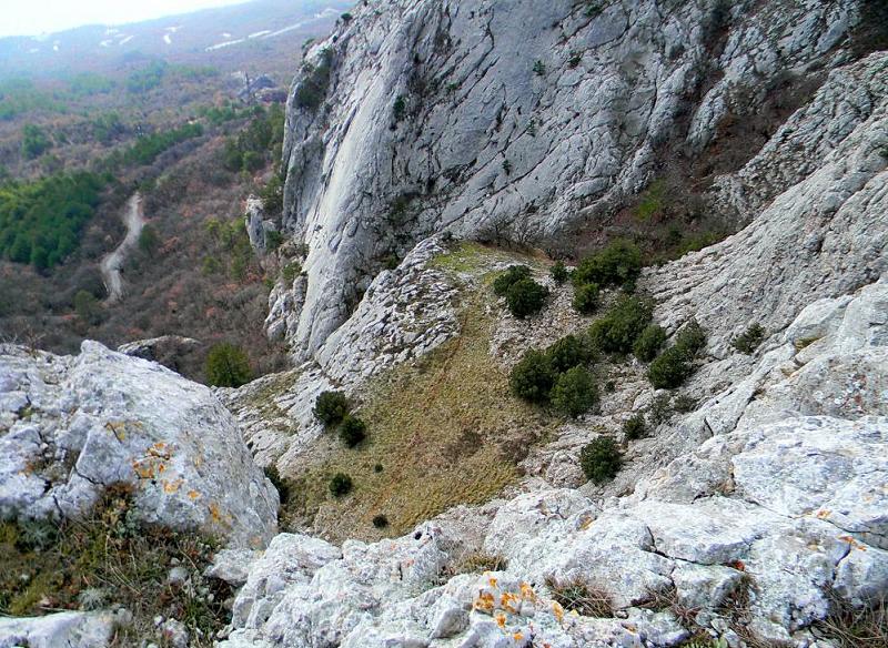 Перевал Чертова лестница горф