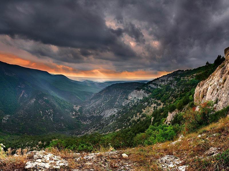 Поход в горы Крым