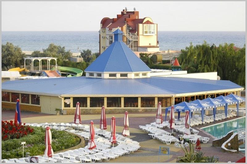 Ресторан на территории судакского аквапарке