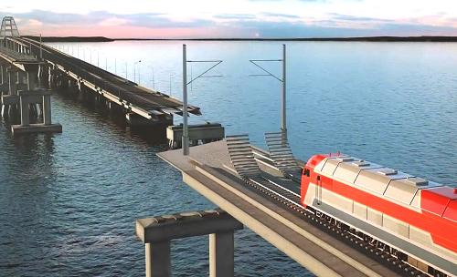 Строительство железной дороги в Крыму