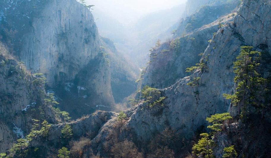 Великий каньон Крыма пешие экскурсии