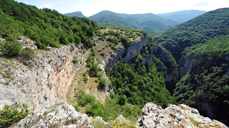 Великий каньон Крыма - экскурсии