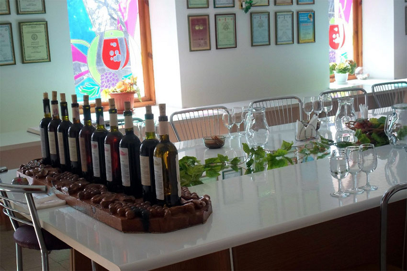 Винзавод в Коктебеле дегустация вин