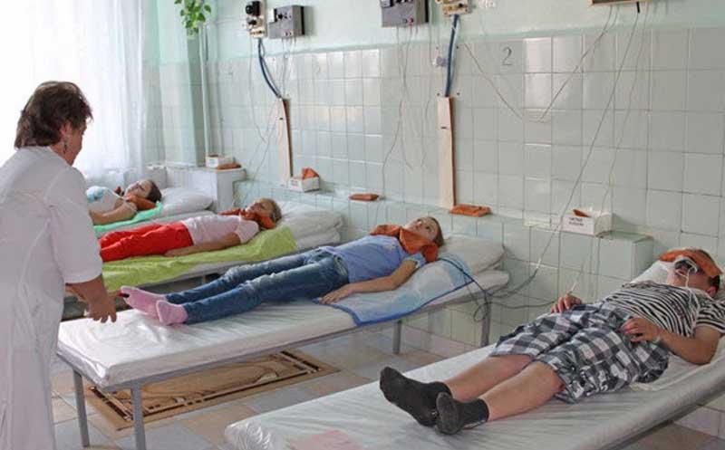 Санаторий Здравница лечение детей