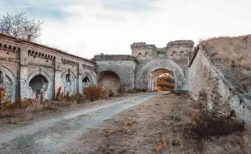 Крепость «Керчь» на карте Крыма