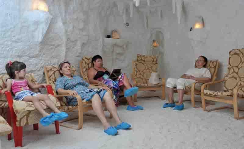 Санаторий Саки соляная комната