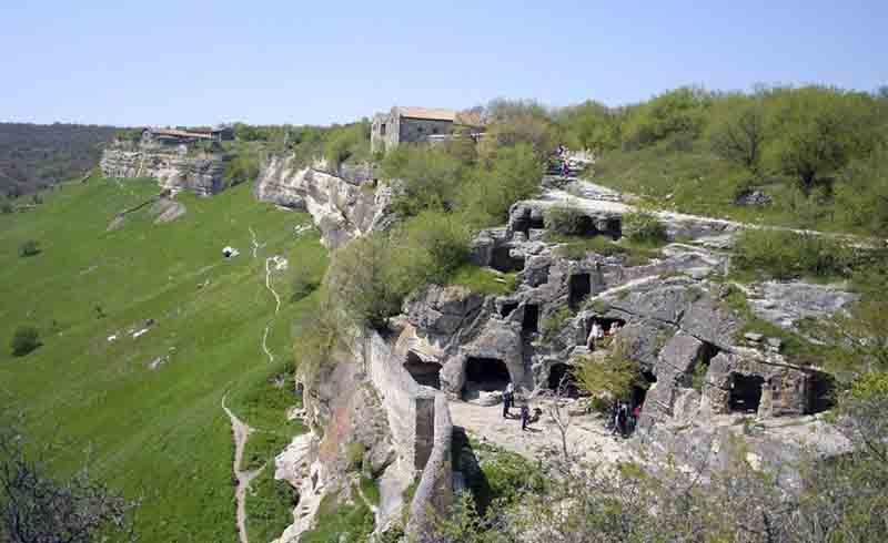 Пещерный город Мангуп-Кале на карте