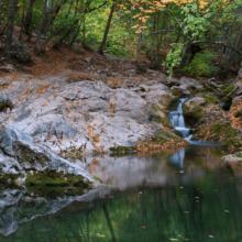 Место силы: Водопад трех святителей
