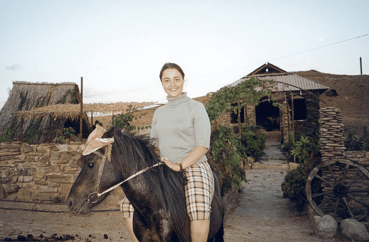 Катание на лошадях в Судаке