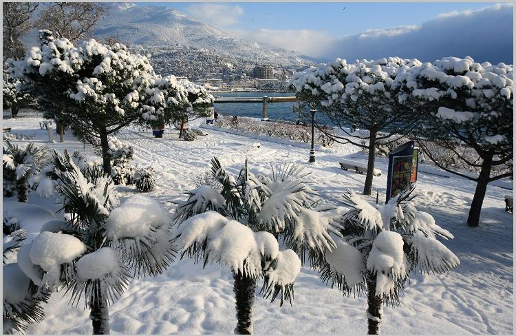 Крым зимой фото
