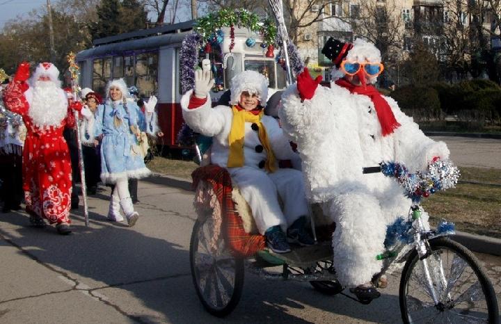 Как проходит Новый год в Крыму