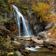 Водопад Джур-Джур в Крыму: где находится и как добраться на машине или пешком