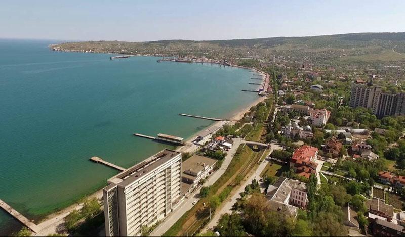 Феодосия побережье