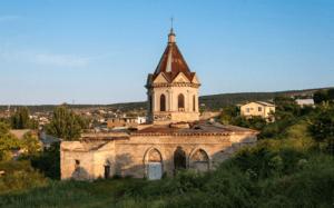 Армянская церковь святого Георгия в Феодосии фото