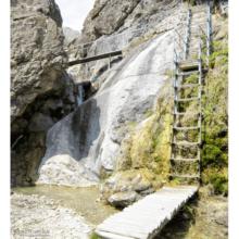 Арпатские водопады в Зеленогорье. Как добраться из Судака?
