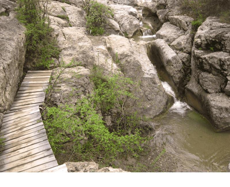 Арпатские водопады в Панагие