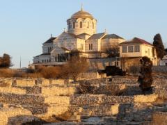 Владимирский собор на территории Херсонеса Таврического в Крыму