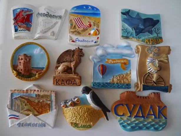 Крымские магниты на холодильник