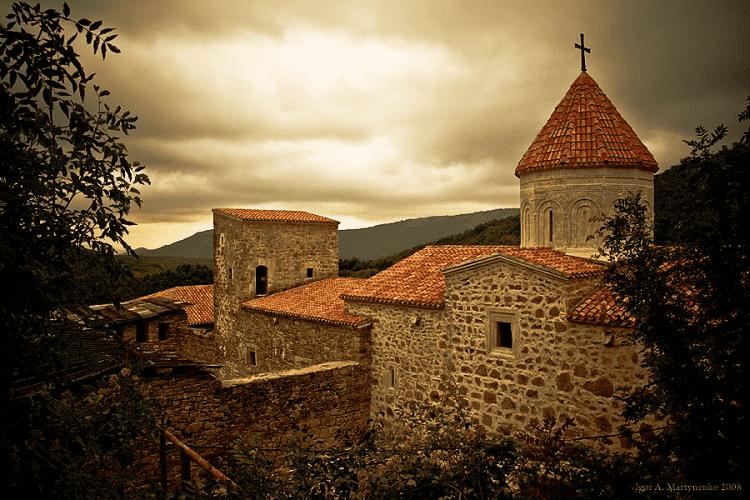 Монастырь Cурб-Хач в Крыму