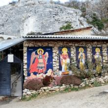 Скит Святой Анастасии Узорешительницы: храм из бисера в Качи-Кальоне (Бахчисарай)