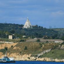 Свято-Никольская церковь на братском кладбище в Севастополе