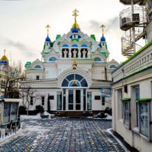 Величественная церковь Святой Екатерины в Феодосии: фото внутреннего убранства