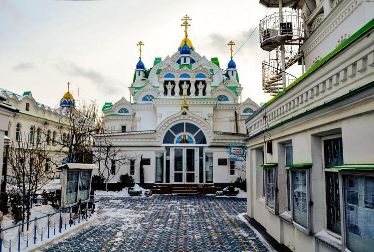 Церковь Святой Екатерины в Феодосии фото