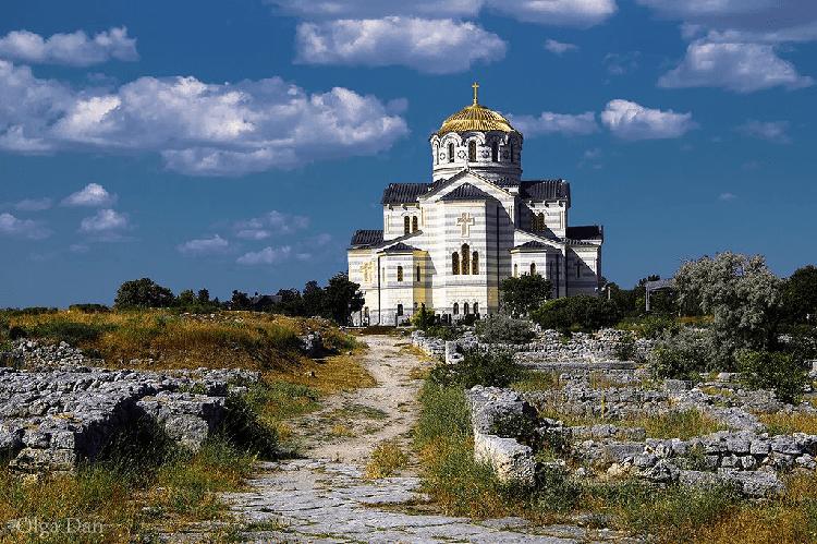 Владимирский кафедральный собор в Херсонесе Севастополь фото