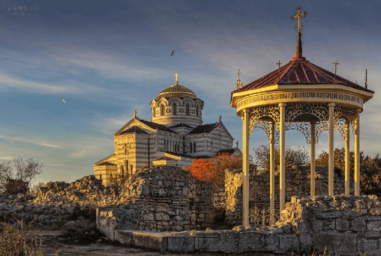 Владимирский собор в Севастополе фото