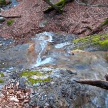 Крымский водопад Лесная Фея