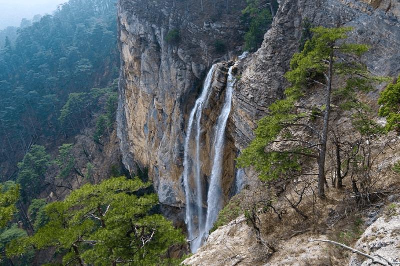 Водопад Учан-Су в Крыму, Ялта