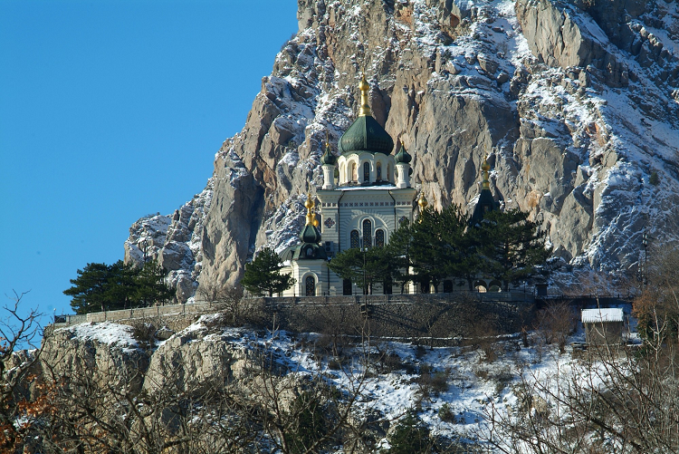 Воскресенская церковь (Форос) фото 1