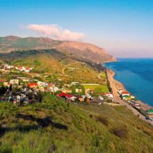 Жилье в частном секторе в Морское, Крым