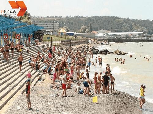 Детский лагерь Дельфин в Песчаном Крым