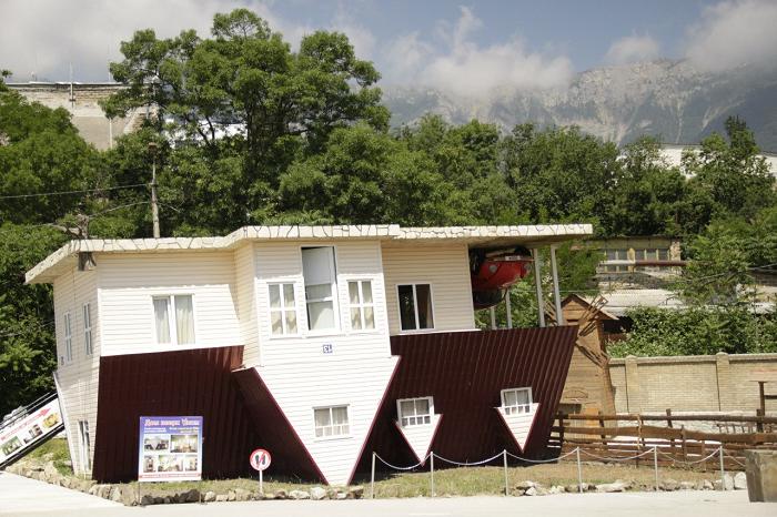 Перевернутый дом в Ялте
