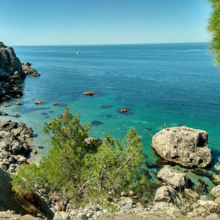 Мыс Айя в Крыму: первозданная красота дарованная природой