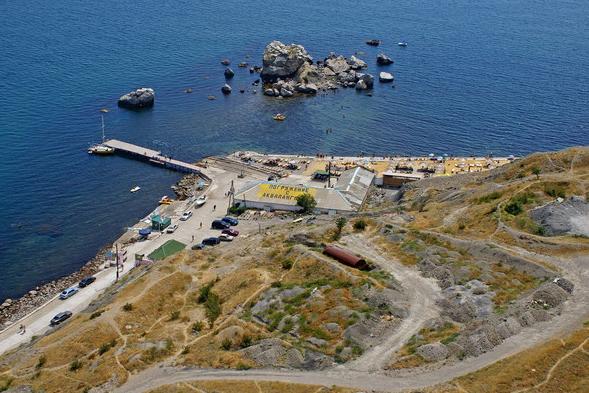 Пляжи Судака, Крым